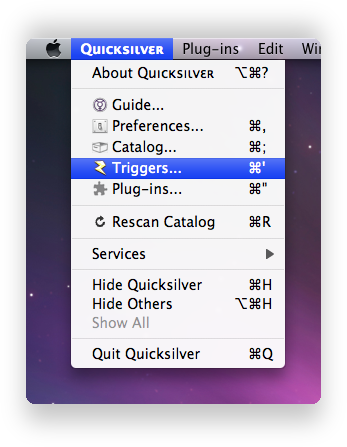 quicksilver-triggers